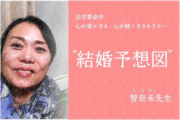 結婚予想図_活学算命学_智奈未先生_占い