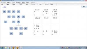 算命学命式ソフト|六親法 十二親干法